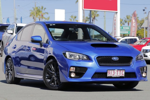 Used Subaru WRX V1 MY15 Premium AWD, 2014 Subaru WRX V1 MY15 Premium AWD Blue 6 Speed Manual Sedan