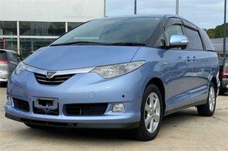 2008 Toyota Estima Blue Wagon.