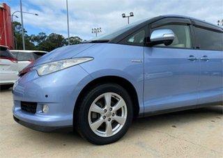 2008 Toyota Estima Blue Wagon
