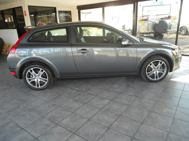 Used Volvo C30 M Series MY10 T5 Geartronic, 2009 Volvo C30 M Series MY10 T5 Geartronic Grey 5 Speed Sports Automatic Hatchback