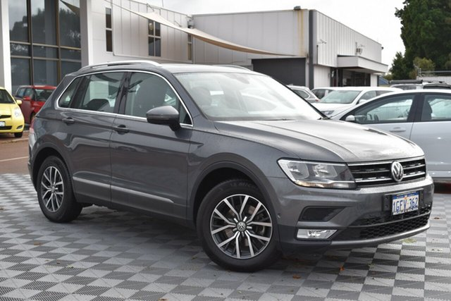 Used Volkswagen Tiguan 5N MY17 110TSI DSG 2WD Comfortline, 2017 Volkswagen Tiguan 5N MY17 110TSI DSG 2WD Comfortline Grey 6 Speed Sports Automatic Dual Clutch
