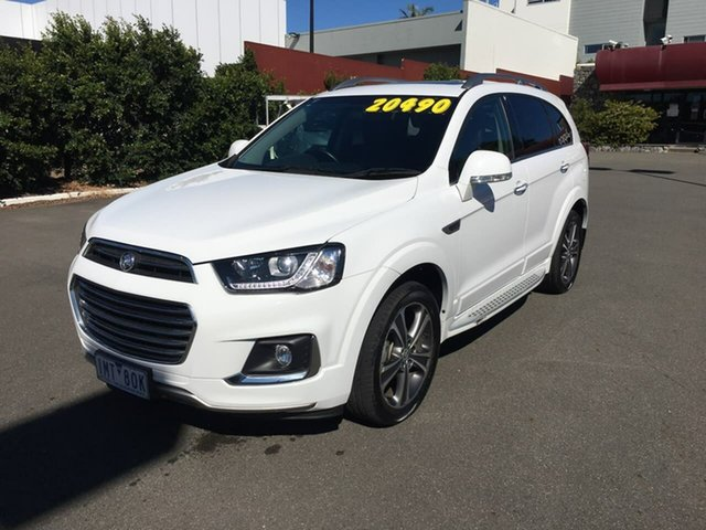 Used Holden Captiva CG MY17 LTZ AWD, 2017 Holden Captiva CG MY17 LTZ AWD White 6 Speed Sports Automatic Wagon