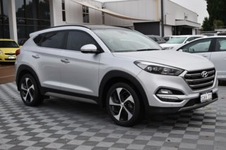 2017 Hyundai Tucson TLE2 MY18 Highlander D-CT AWD Silver 7 Speed Sports Automatic Dual Clutch Wagon.