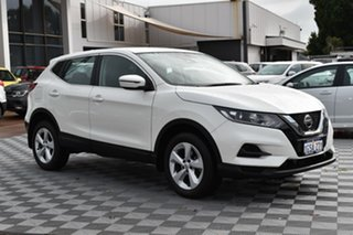 2018 Nissan Qashqai J11 Series 2 ST X-tronic White 1 Speed Constant Variable Wagon
