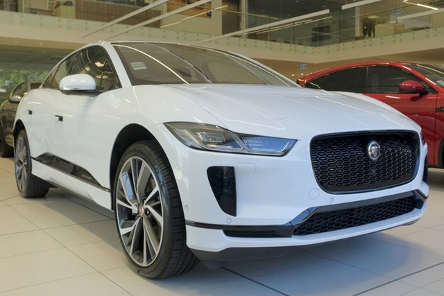 Demo Jaguar I-Pace X590 MY20 EV400 AWD SE, 2019 Jaguar I-Pace X590 MY20 EV400 AWD SE Fuji White 1 Speed Automatic Wagon