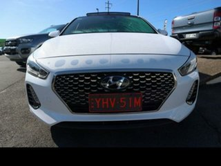 2017 Hyundai i30 GD5 Series 2 Upgrade SR (Sunroof) White 6 Speed Automatic Hatchback