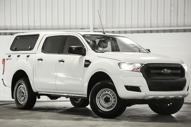 Used Ford Ranger PX MkII XL Double Cab 4x2 Hi-Rider, 2015 Ford Ranger PX MkII XL Double Cab 4x2 Hi-Rider White 6 Speed Sports Automatic Utility