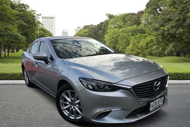 Used Mazda 6 GJ1022 Touring SKYACTIV-Drive, 2015 Mazda 6 GJ1022 Touring SKYACTIV-Drive Billet Silver 6 Speed Sports Automatic Sedan