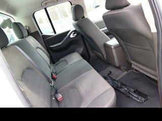2013 Nissan Navara D40 MY12 ST (4x4) White 6 Speed Manual Dual Cab Pick-up