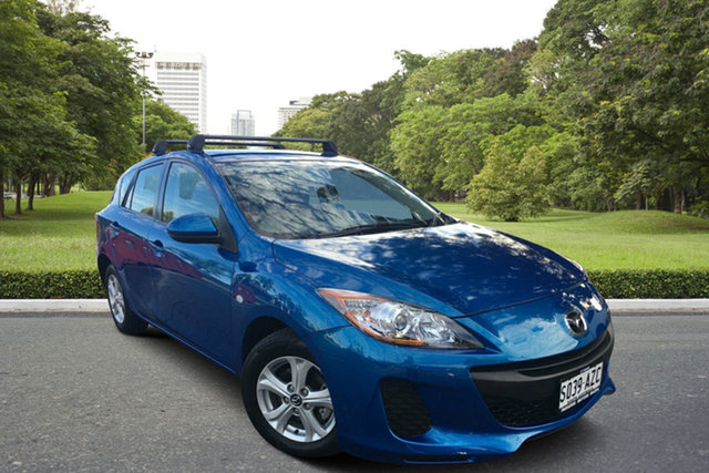 Used Mazda 3 BL10F2 MY13 Neo, 2013 Mazda 3 BL10F2 MY13 Neo Blue 6 Speed Manual Hatchback