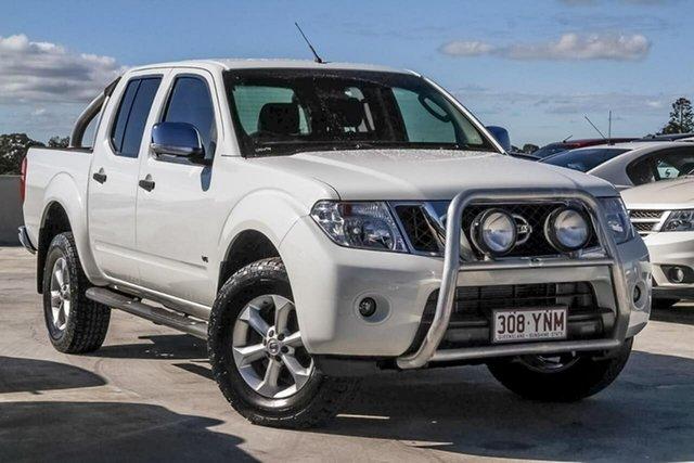 Used Nissan Navara D40 S5 MY12 ST-X 550, 2012 Nissan Navara D40 S5 MY12 ST-X 550 White 7 Speed Sports Automatic Utility