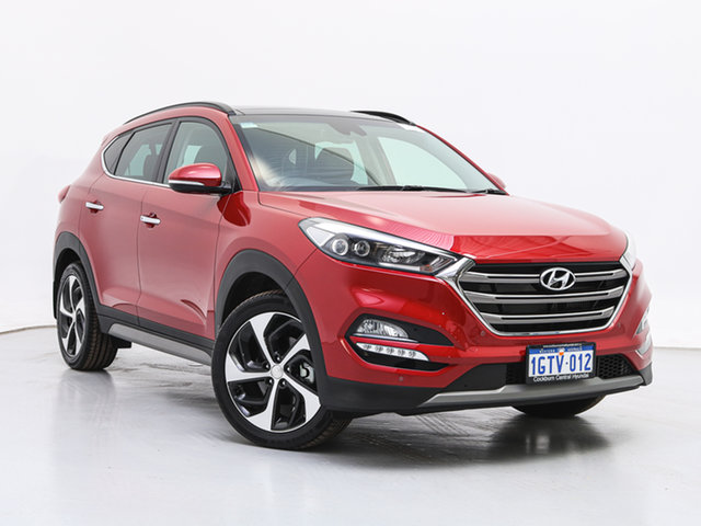 Used Hyundai Tucson TLE2 MY18 Highlander R-Series (AWD), 2018 Hyundai Tucson TLE2 MY18 Highlander R-Series (AWD) Fiery Red 6 Speed Automatic Wagon