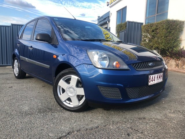 Used Ford Fiesta WQ LX, 2007 Ford Fiesta WQ LX Blue 4 Speed Automatic Hatchback