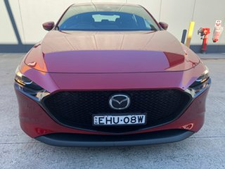 2019 Mazda 3 BP2H7A G20 SKYACTIV-Drive Touring Soul Red Crystal 6 Speed Sports Automatic Hatchback