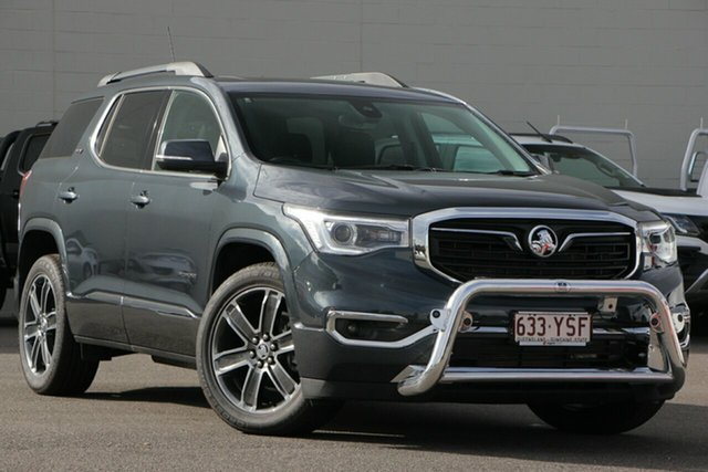 Demo Holden Acadia AC MY19 LTZ-V 2WD, 2019 Holden Acadia AC MY19 LTZ-V 2WD Dark Shadow 9 Speed Sports Automatic Wagon