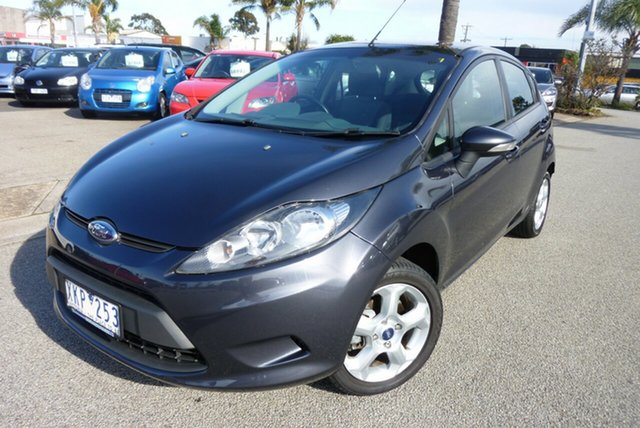 Used Ford Fiesta WS LX Cheltenham, 2009 Ford Fiesta WS LX Charcoal Grey 5 Speed Manual Hatchback