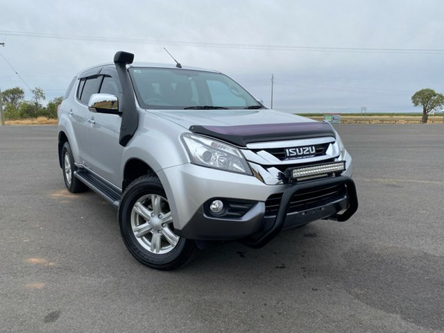 Used Isuzu MU-X MY15 LS-U Rev-Tronic, 2015 Isuzu MU-X MY15 LS-U Rev-Tronic Titanium Silver 5 Speed Sports Automatic Wagon