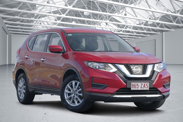 Used Nissan X-Trail T32 Series 2 ST (2WD), 2018 Nissan X-Trail T32 Series 2 ST (2WD) Ruby Red Continuous Variable Wagon