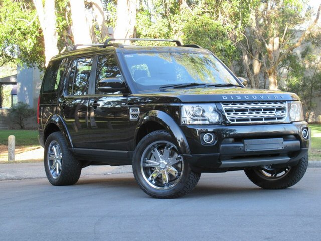 Used Land Rover Discovery Series 4 L319 MY15 SDV6 HSE, 2014 Land Rover Discovery Series 4 L319 MY15 SDV6 HSE Black 8 Speed Sports Automatic Wagon