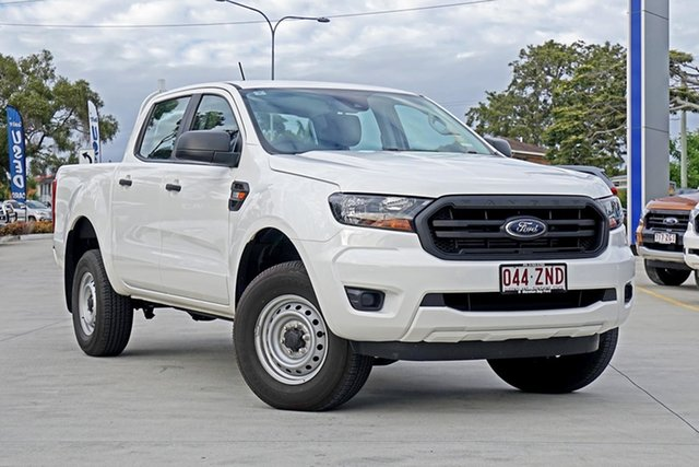 Used Ford Ranger PX MkIII 2019.75MY XL Pick-up Double Cab, 2019 Ford Ranger PX MkIII 2019.75MY XL Pick-up Double Cab White 6 Speed Sports Automatic Utility