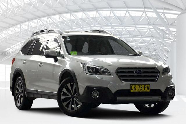 Used Subaru Outback MY16 2.0D Premium AWD, 2017 Subaru Outback MY16 2.0D Premium AWD White Continuous Variable Wagon