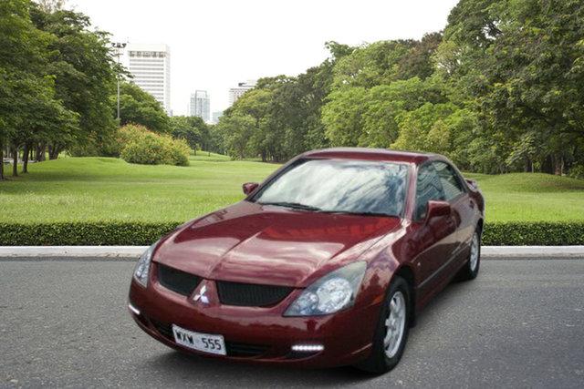 Used Mitsubishi Magna TL LS, 2003 Mitsubishi Magna TL LS Maroon 4 Speed Sports Automatic Sedan