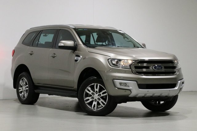 Used Ford Everest UA Trend, 2016 Ford Everest UA Trend Gold 6 Speed Automatic Wagon