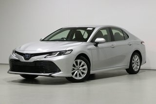 2018 Toyota Camry AXVH71R MY19 Ascent (Hybrid) Silver Continuous Variable Sedan.