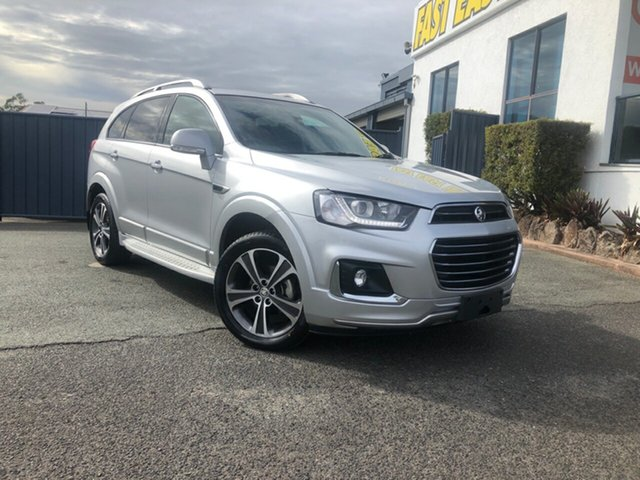 Used Holden Captiva CG MY18 LTZ AWD, 2018 Holden Captiva CG MY18 LTZ AWD Silver 6 Speed Sports Automatic Wagon