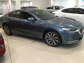 2019 Mazda 6 GL1033 Atenza SKYACTIV-Drive Blue Reflex 6 Speed Sports Automatic Sedan.