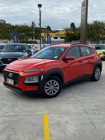 Demo Hyundai Kona OS.2 MY19 Go 2WD, 2019 Hyundai Kona OS.2 MY19 Go 2WD Tangerine Comet 6 Speed Sports Automatic Wagon