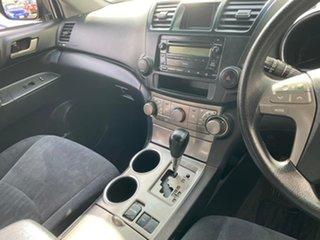 2010 Toyota Kluger GSU40R KX-R 2WD Black 5 Speed Sports Automatic Wagon