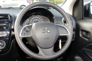 2019 Mitsubishi Mirage LA MY20 ES White Continuous Variable Hatchback