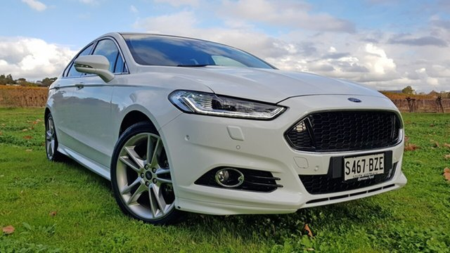 Used Ford Mondeo MD 2018.75MY Titanium PwrShift, 2019 Ford Mondeo MD 2018.75MY Titanium PwrShift Frozen White 6 Speed Sports Automatic Dual Clutch