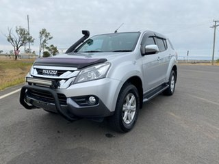 2015 Isuzu MU-X MY15 LS-U Rev-Tronic Titanium Silver 5 Speed Sports Automatic Wagon.