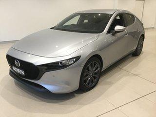 2019 Mazda 3 BP2HLA G25 SKYACTIV-Drive GT Sonic Silver 6 Speed Sports Automatic Hatchback.