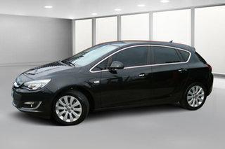 2012 Opel Astra AS Sport Black Metallic 6 Speed Sports Automatic Hatchback.