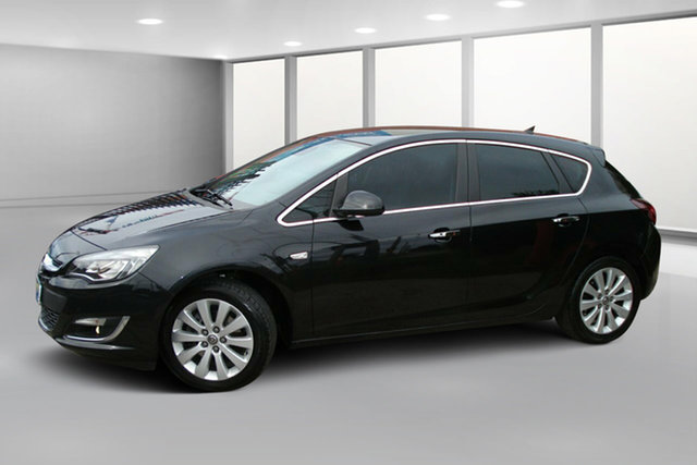 Used Opel Astra AS Sport, 2012 Opel Astra AS Sport Black Metallic 6 Speed Sports Automatic Hatchback