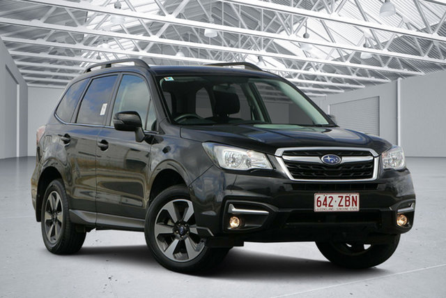 Used Subaru Forester MY18 2.5I-L, 2018 Subaru Forester MY18 2.5I-L Crystal Black Continuous Variable Wagon
