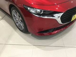 2019 Mazda 3 BP2S7A G20 SKYACTIV-Drive Touring Soul Red 6 Speed Sports Automatic Sedan.