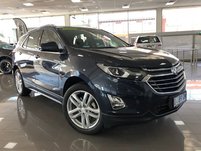 Demo Holden Equinox EQ MY18 LTZ AWD, 2018 Holden Equinox EQ MY18 LTZ AWD Blue Steel 9 Speed Sports Automatic Wagon