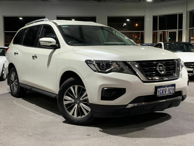 Used Nissan Pathfinder R52 Series II MY17 ST X-tronic 2WD, 2017 Nissan Pathfinder R52 Series II MY17 ST X-tronic 2WD White 1 Speed Constant Variable Wagon