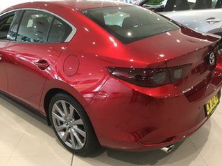 2019 Mazda 3 BP2S7A G20 SKYACTIV-Drive Touring Soul Red 6 Speed Sports Automatic Sedan