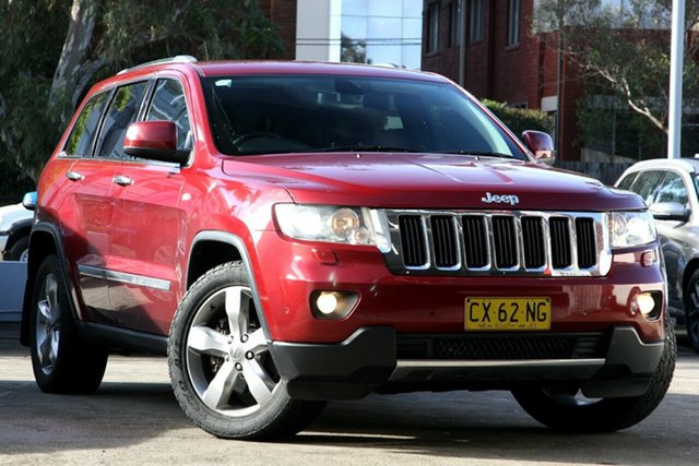 Used Jeep Grand Cherokee WK MY12 Limited (4x4), 2012 Jeep Grand Cherokee WK MY12 Limited (4x4) Red 5 Speed Automatic Wagon