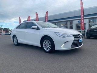 2017 Toyota Camry Altise White Sports Automatic Sedan.