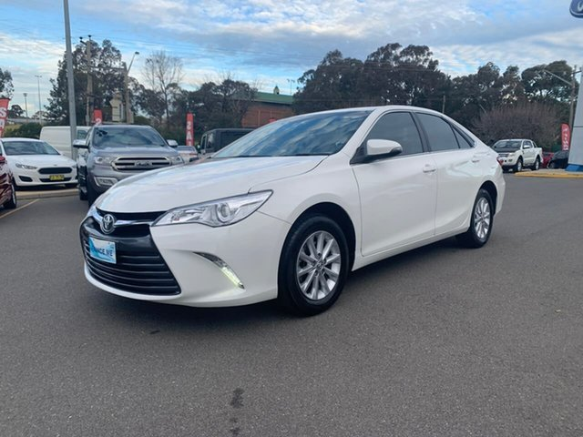 Used Toyota Camry  Altise, 2017 Toyota Camry Altise White Sports Automatic Sedan