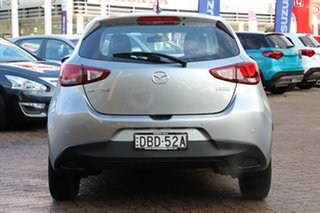 2015 Mazda 2 DJ MY16 Neo Grey 6 Speed Automatic Hatchback
