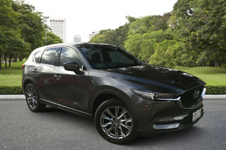 2020 Mazda CX-5 KF4WLA Akera SKYACTIV-Drive i-ACTIV AWD Machine Grey 6 Speed Sports Automatic Wagon.
