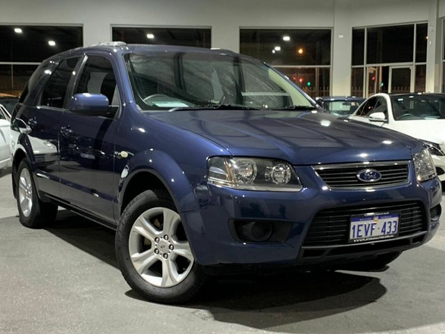 Used Ford Territory SY MkII TX, 2009 Ford Territory SY MkII TX Blue 4 Speed Sports Automatic Wagon