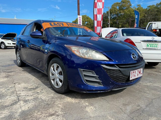 Used Mazda 3 BL10F1 Neo, 2009 Mazda 3 BL10F1 Neo Purple 6 Speed Manual Hatchback